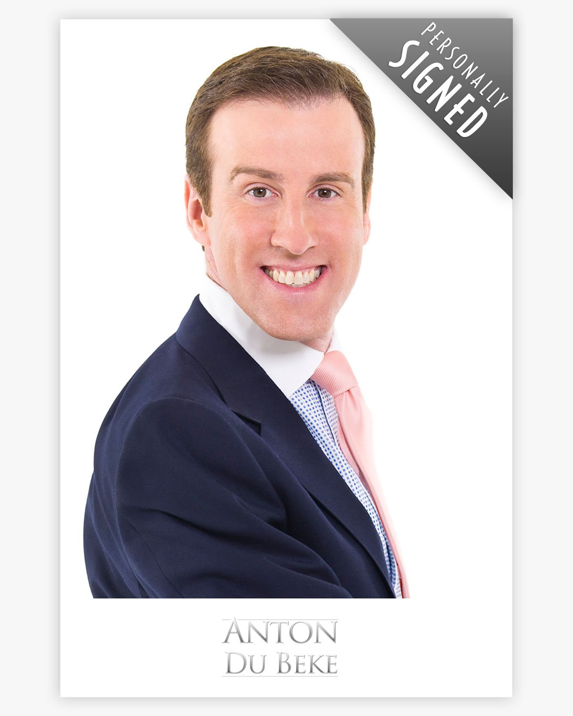 Photographic print of Anton Du Beke