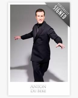 Shall We Dance - photographic print of Anton Du Beke
