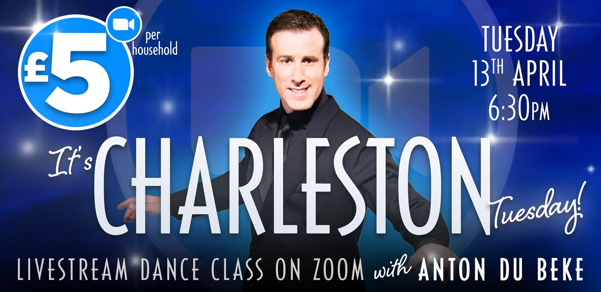 Charleston class with Anton Du Beke on Zoom
