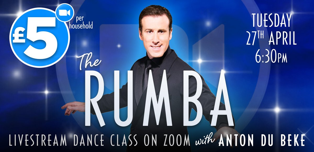 Rumba Zoom Dance Class with Anton Du Beke