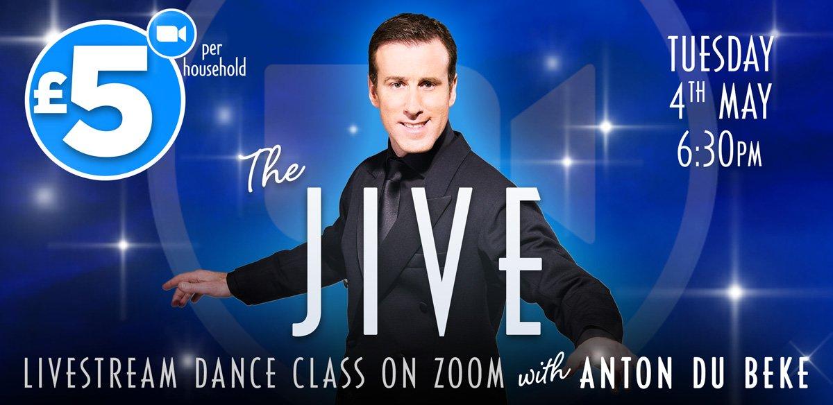 Jive Dance Class on Zoom with Anton Du Beke
