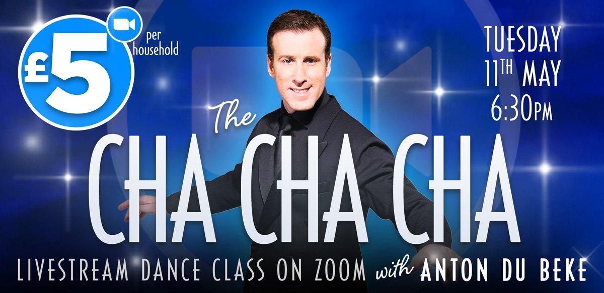 Cha Cha Cha Dance Class on Zoom with Anton Du Beke