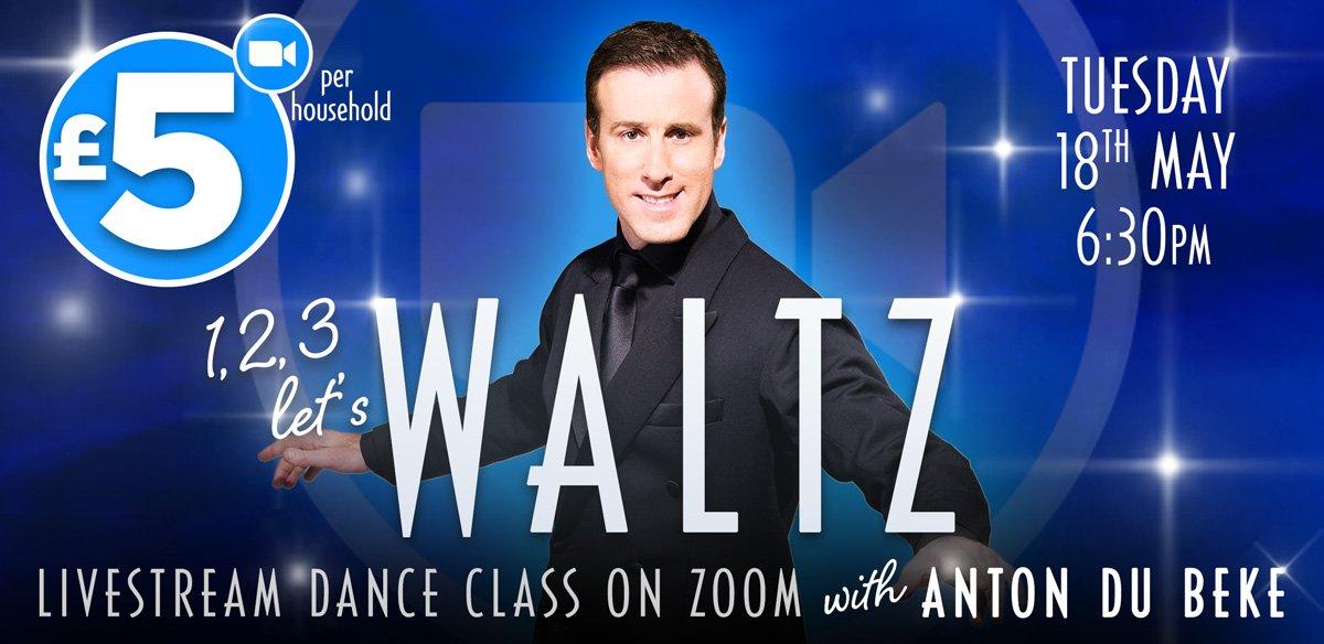 Waltz Class on Zoom with Anton Du Beke